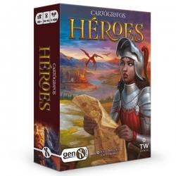 Expansión Héroes del juego de Mesa Cartógrafos de Gen X Games
