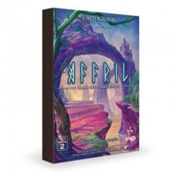 Pack de Mapas Affril del juego de Mesa Cartógrafos de Gen X Games