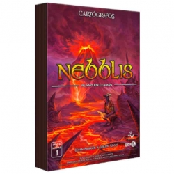 Nebblis Map Pack from the Gen X Games Cartographers Board Game
