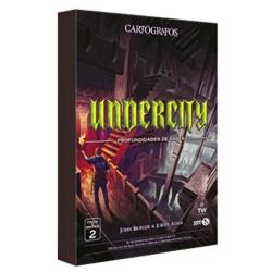 Pack de Mapas Undercity del juego de Mesa Cartógrafos de Gen X Games
