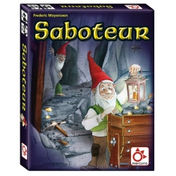 Basic Saboteur card game from Mercury Distributions