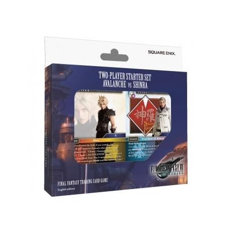 Final Fantasy TCG - FF VII REMAKE AVALANCHE VS SHINRA Two-Player Starter Set Display (6 Sets) - EN