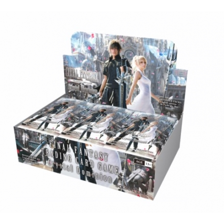 CARD GAME FINAL FANTASY TCG OPUS XV BOOSTER BOX (36) FROM SQUARE ENIX