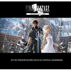 CARD GAME FINAL FANTASY TCG OPUS XV PRE-RELEASE KIT FROM SQUARE ENIX