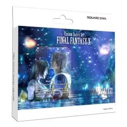 DISPLAY FINAL FANTASY TCG FINAL X CUSTOM DECK (6) Square Enix TCG