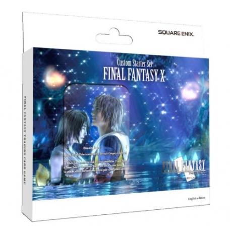 DISPLAY FINAL FANTASY TCG FINAL X CUSTOM DECK (6) de Square Enix TCG