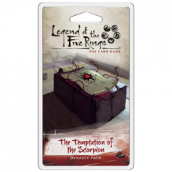 FFG - Legend of the Five Rings LCG: The Temptations of the Scorpion Dynasty Pack - EN
