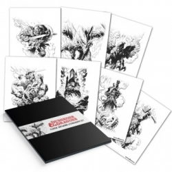 Dungeons & Dragons Lithograph Set