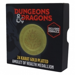 Dungeons & Dragons 24k Gold Plated Medallion