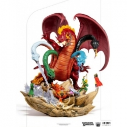 Dungeons and Dragons - Tiamat Battle Demi Art Scale 1/20