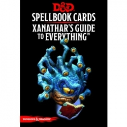 Dungeons & Dragons RPG - Xanathar's Guide to Everything Spellbook Cards - EN