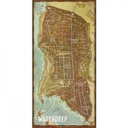 """D&D: Waterdeep Vinyl Game Mat 20x 40"""""""""""