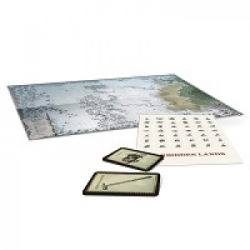 Die Verbotenen Lande - Die Frostweiten - Karte & Spielkarten - DE