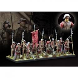 Conquest: The last Argument of Kings - Hundred Kingdoms: Militia Pikemen - EN