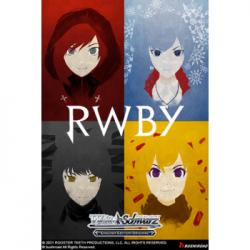 Weiß Schwarz - Booster Display: RWBY (20 Packs) - EN