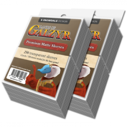 Lands of Galzyr Accessories: Sleeve pack