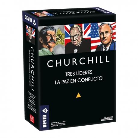 Churchill wargame board game from Devir