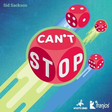Can´t Stop dice game from Maldito Games