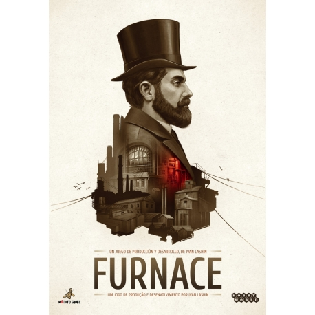 Furnace card game from Maldito Games