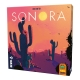 Sonora is a game that inaugurates a new genre, mixing the mechanics of flicking and roll and write
