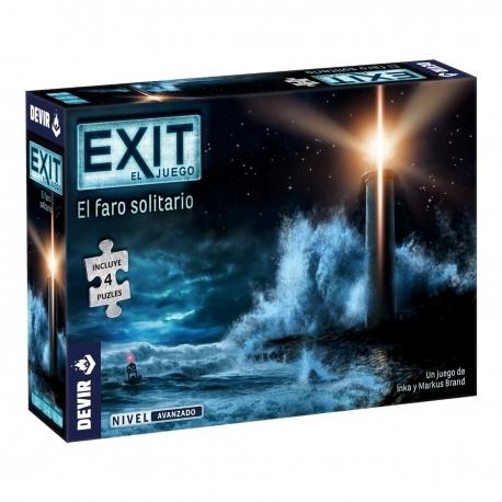 Exit escape room gameExit: Puzzle El faro solitario of Devir