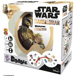 Juego de cartas Dobble Star Wars Mandalorian de Zygomatic