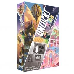 Juego de cartas cooperativo Unlock! Kids Escape Game de Space Cowboys