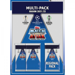 UEFA Champions League Match Attax 2021/22 - Multipack