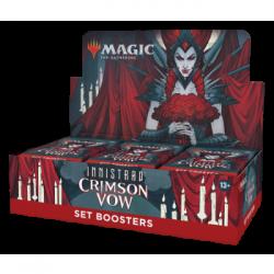 MTG - Innistrad: Crimson Vow Set Booster Display (30 Packs) - DE