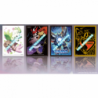 Digimon Card Game - Official Assorted 4 Kinds Sleeves Display (12 Pieces)