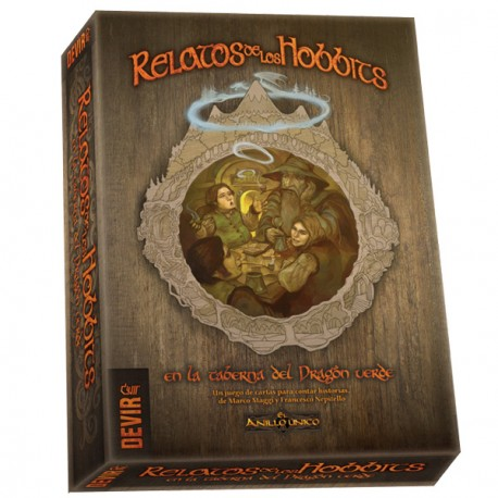 STORIES OF THE HOBBIT box content, where Players are hobbits, who tell stories