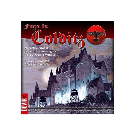 Table game set in World War II. The Colditz escape