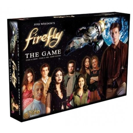 Board game based on the legendary television series Firefly box content