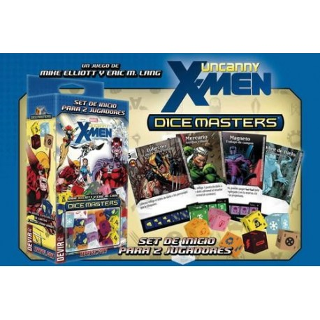 MARVEL DICEMASTERS UNCANNY X MEN STARTER *SPA*