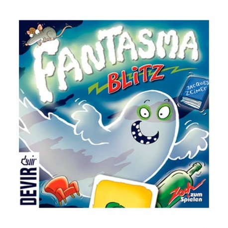 BLITZ Ghost, Reflex game for 2-8 players fulminant reactions. Box content