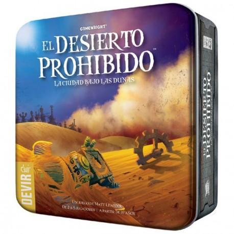 En El desierto prohibido, una secuela temática de La isla prohibida, los jugadores adoptan el papel de valerosos aventureros