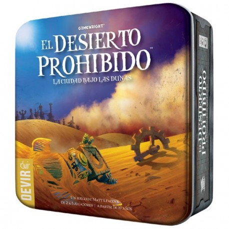 The forbidden desert in a thematic sequel to The Forbidden Island, players take on the role of brave adventurers