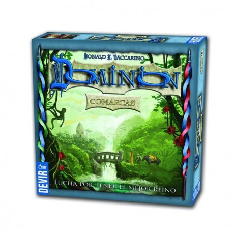 Expansión Comarcas del famoso juego de cartas Dominion