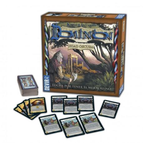 Dominion - Edad Oscura, expansión para completar el juego básico