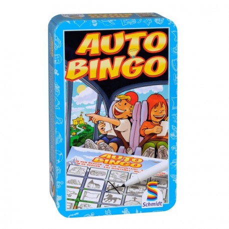"A trip by car or train can last long. So it is possible that one gets bored. However, with the ""Auto Bingo"""