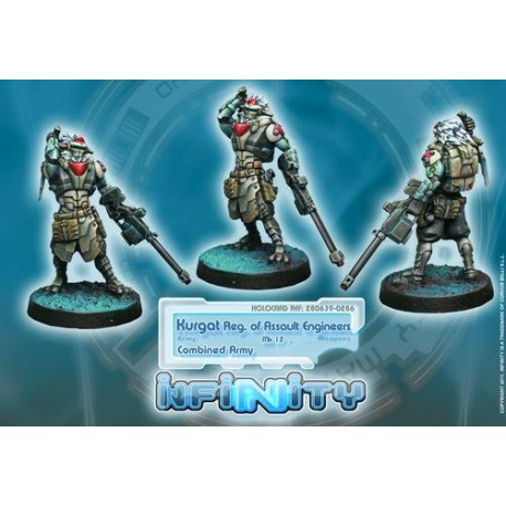 Ejército Combinado - Kurgat Reg. Assault Engineers
