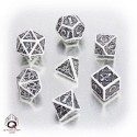 Dices in box for table games, miniature games, rol games...