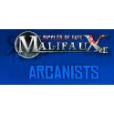 Arcanist, todos los productos disponibles del juego de miniaturas de Wyrd