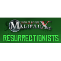 Resurrectionist, all available products from the Wyrd miniatures game