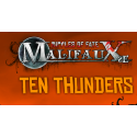 Ten Thunders, all available products from the Wyrd miniatures game