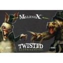 Twisted, all available products from the Wyrd miniatures game