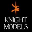 Figuras de personajes de cómics en miniatura para pintar de Knight models de 54-70mm