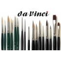 Section dedicated to da Vinci brushes for painting miniatures