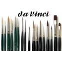 Sección dedicada a los pinceles Da Vinci para pintar miniaturas