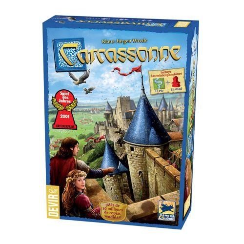 Carcassonne juego de estrategia facil